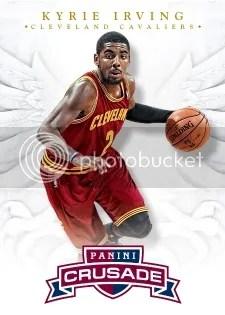 12/13 Panini Crusade Basketball Kyrie Irving Base