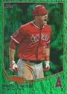 2013 Topps Series 2 Mike Trout Emerald