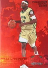 2011-12 Fleer Retro LeBron PMG Red