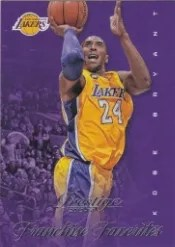 13/14 Panini Prestige Franchise Favorites Kobe Bryant
