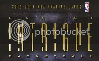 13/14 Panini Intrigue Basketball