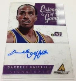 2013/14 Panini Pinnacle Darrell Griffith Essence of Success Autograph