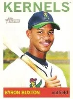 2013 Heritage Minor League Byron Buxton