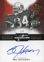 2013 Ultimate Collection Bo Jackson Autograph