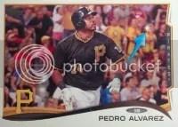 2014 Topps Series 1 Pedro Alvarez Sparkle