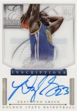 12/13 Panini Elite Series RC Inscription Draymond Green Auto
