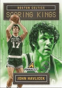 13/14 Pinnacle Scoring Kings John Havlicek Insert Card