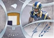 2013 Five Star Tavon Austin Autograph Patch