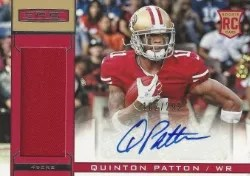 2013 Rookie & Stars Quinton Patton