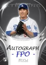 2013 Bowman Sterling Asia Autograph