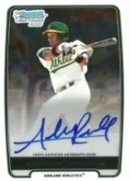 2013 Bowman Addison Russell Autograph