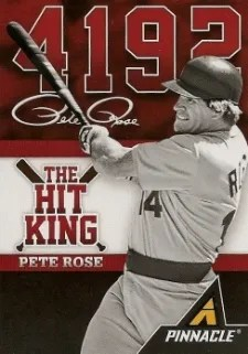 2013 Pinnacle The Hit King Pete Rose Card