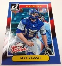 2014 Donruss Max Stassi The Rookies Insert