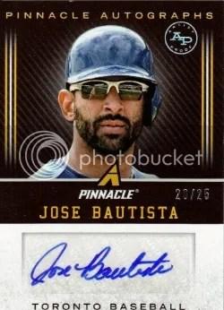 2013 Pinnacle Artist Proof Jose Bautista