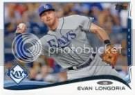 2014 Topps Series 1 Evan Longoria