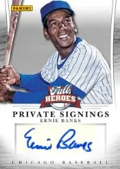 2013 Panini Fall Heroes Ernie Banks