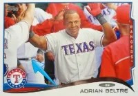 2014 Topps Series 1 Adrian Beltre Sparkle