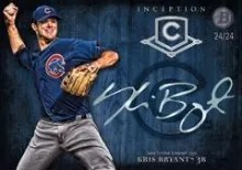 2014 Bowman Inception Kris Bryant