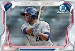 2014 Bowman Chrome Miguel Sano