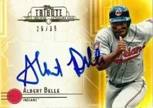 2014 Topps Tribute Albert Belle