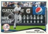2014 Topps Series 1 Mariano Rivera #42