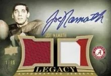 Upper Deck Quantum Joe Namath