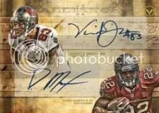 2012 Topps Valor Dual Autograph