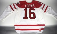Jonathan Toews Team Canada Game Worn Jersey