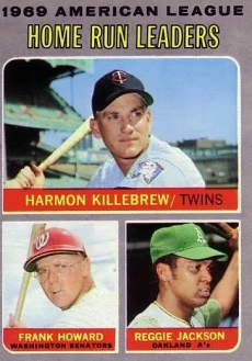 1970 Topps #66 Home Run HR Leaders