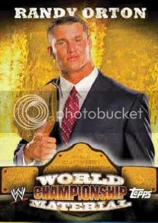 2010 Topps WWE Randy Orton Championship Material