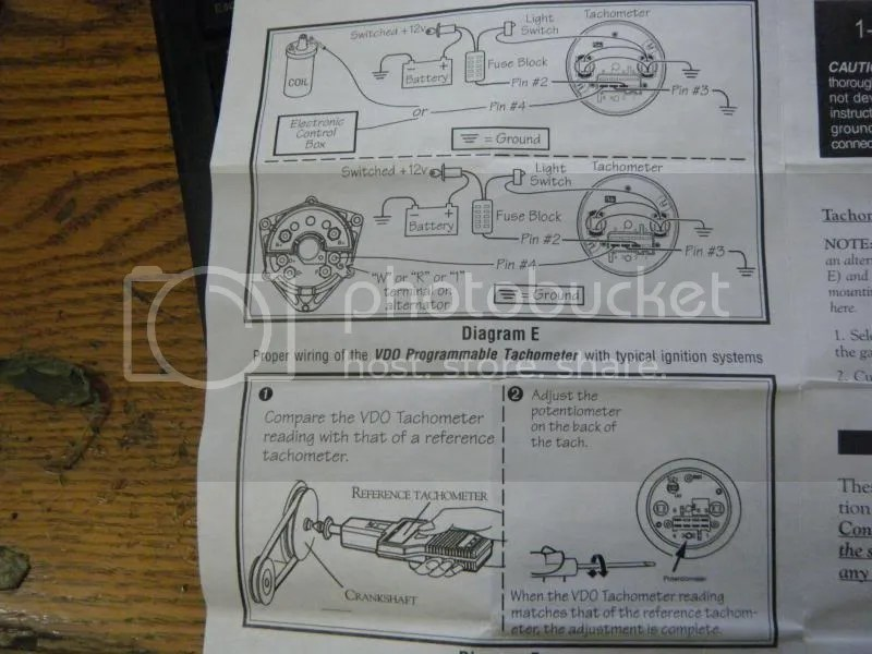 vw tachometer gauge wiring diagram vw vdo tach wiring vw schematic