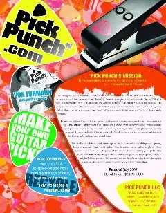 pick punch ad make your own guitar picks