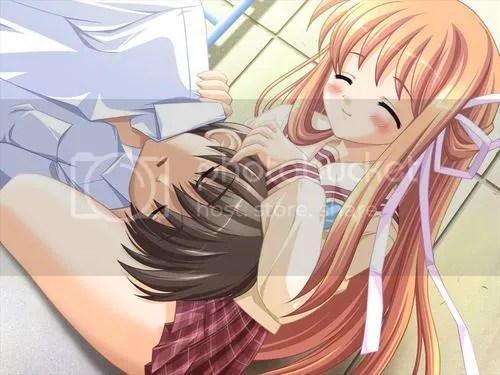 Cute Romantic Gf Bf Wallpaper Cuddling Anime Photo By Kit Bangi Photobucket