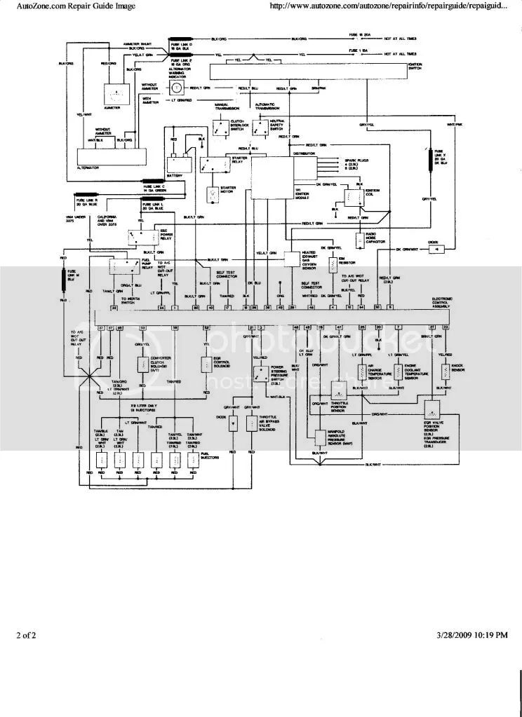 91 ford explorer 4 0 wiring diagram