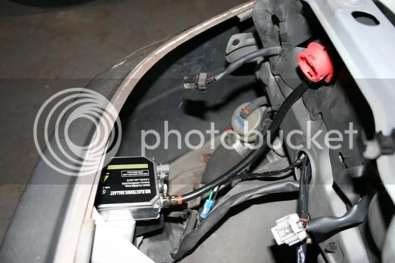 Bi Xenon HID Projector Headlights into R33 GTR - GT-R Register
