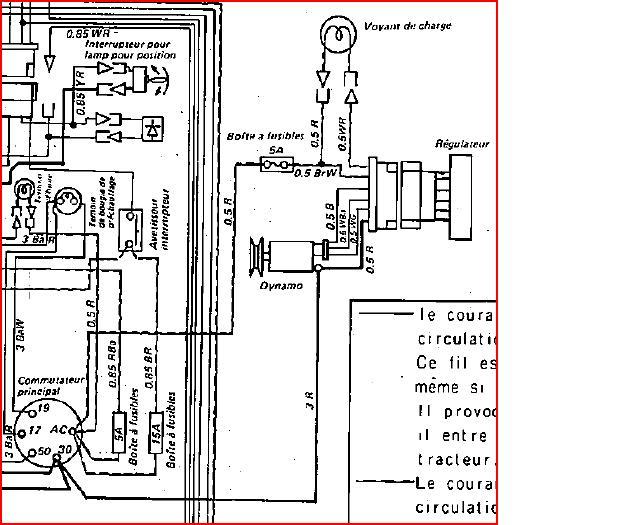 schema electrique moteur kubota