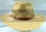 Summer Club Australia Style Hat Sz Large Braided Woven