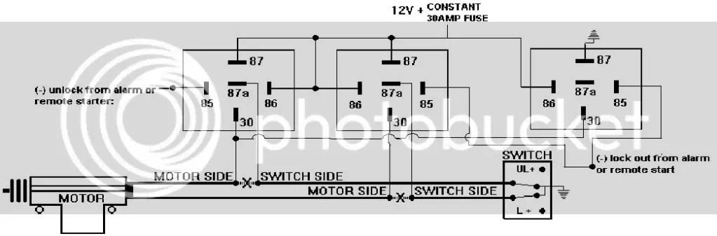 Door Lock Wiring Relay Diagram - Dodge Cummins Diesel Forum