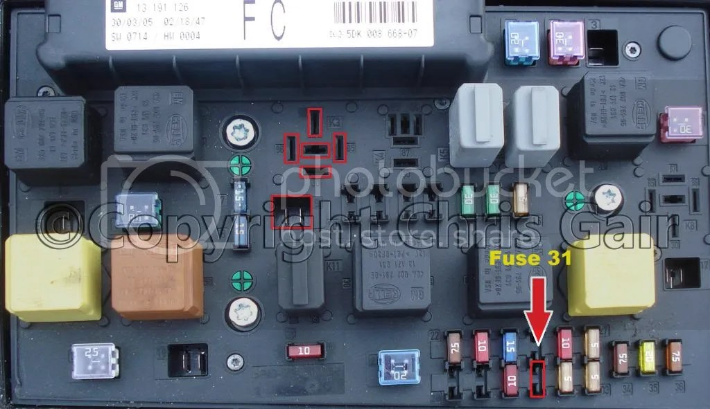 Fuse Box Astra Gsi Wiring Diagram