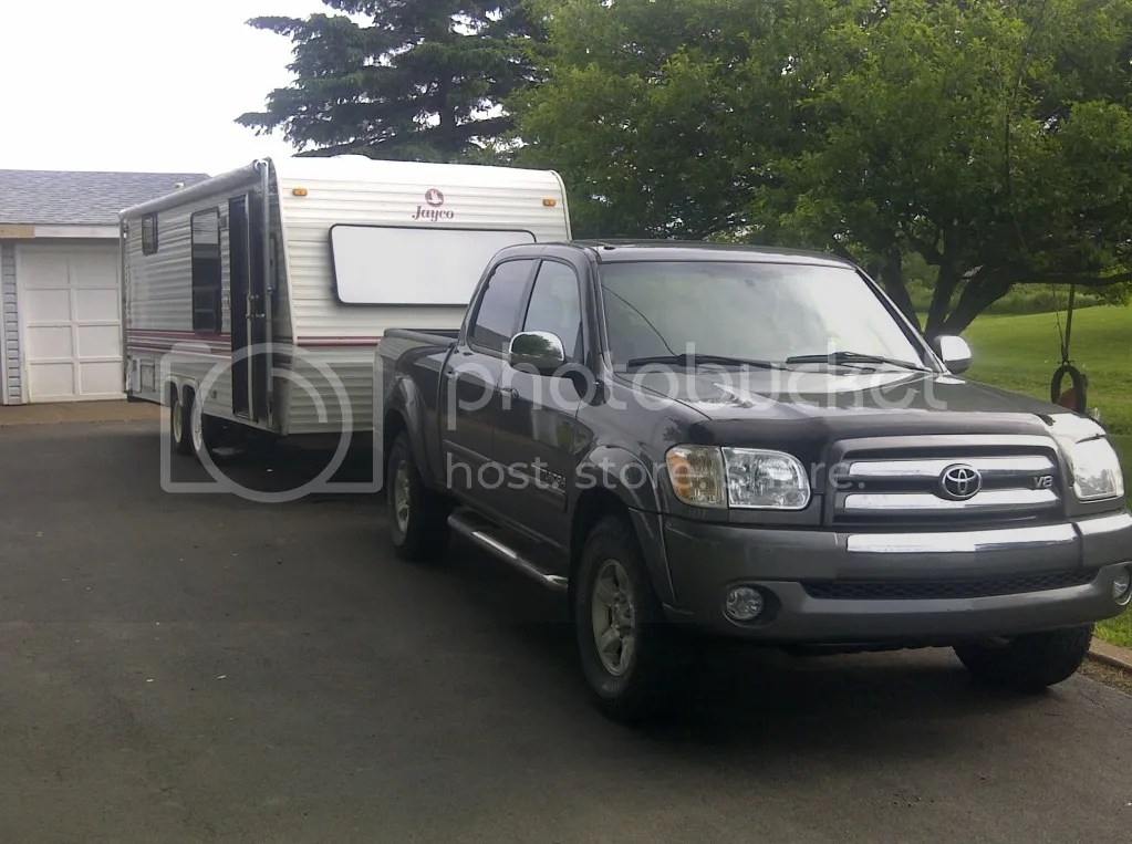 Opinions/Experience for a 47L V8 towing a camper trailer