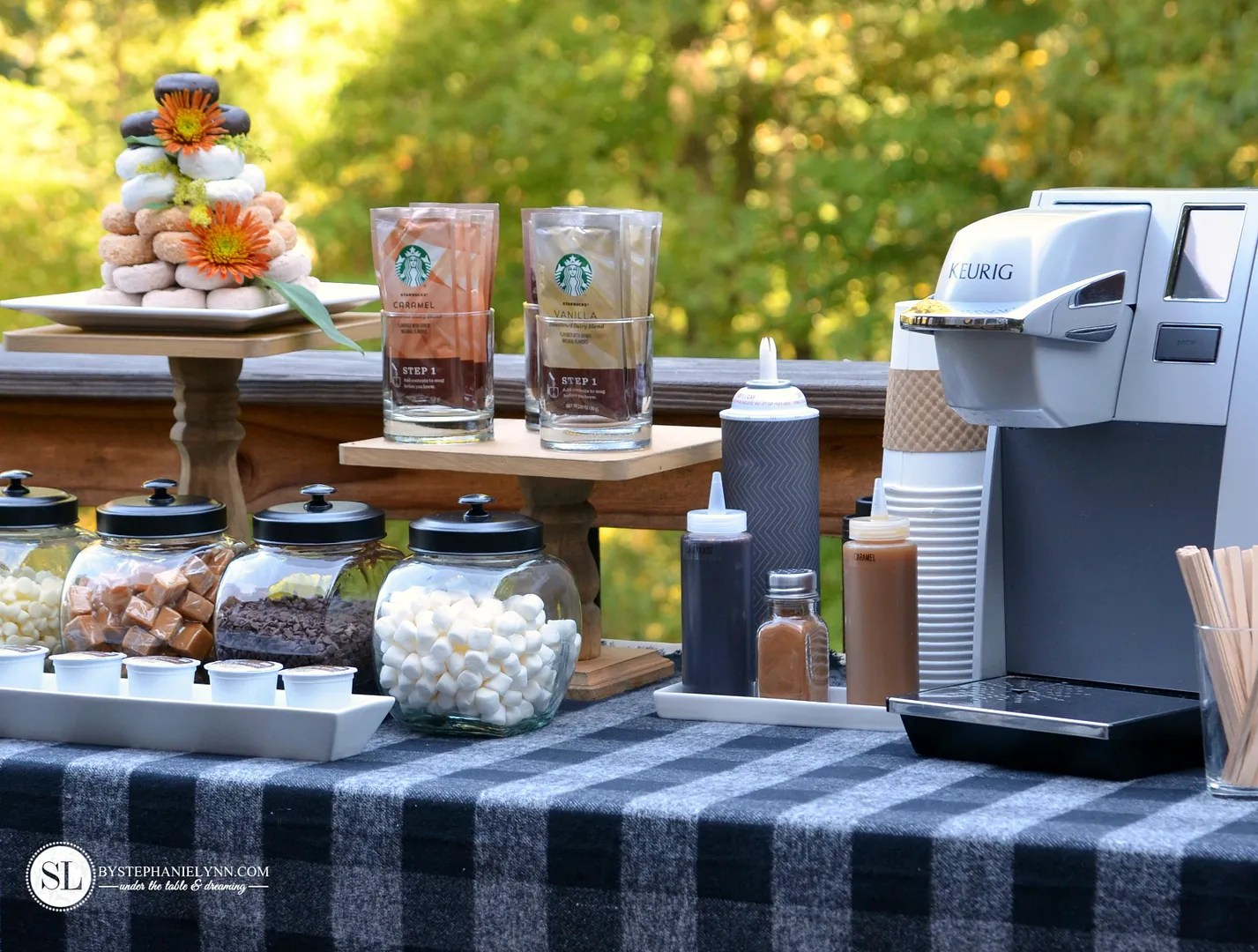 Coffee Bar Ideas For Party Fall Coffee Bar Coffee And Crafts Crafting Party