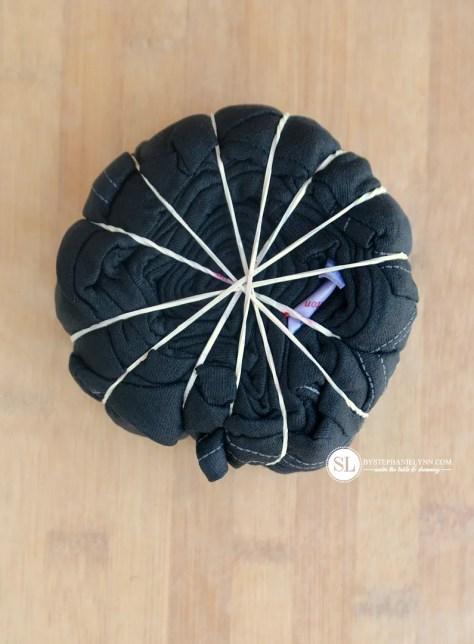 Spiral Tie Dye Technique