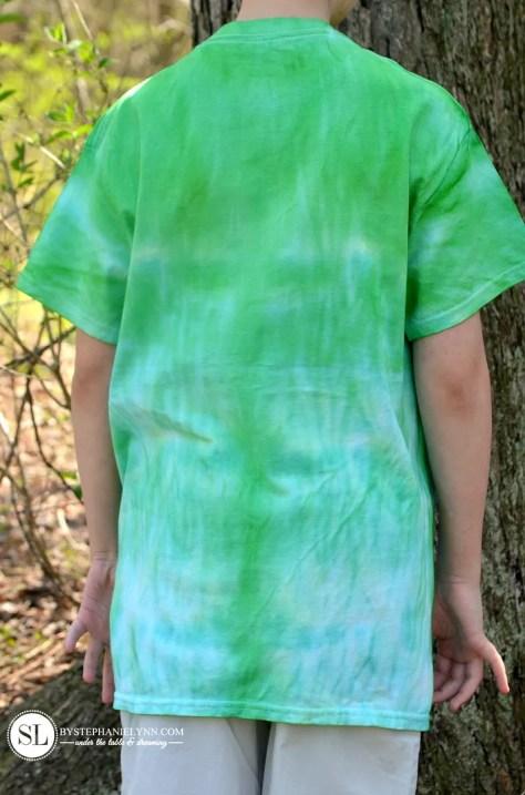 Tube Scrunch Tie Dye Pattern