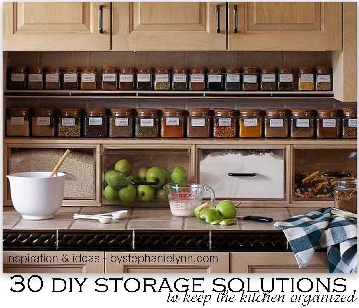Storage Solutions 30 Diy Storage Solutions To Keep The Kitchen Organized Saturday