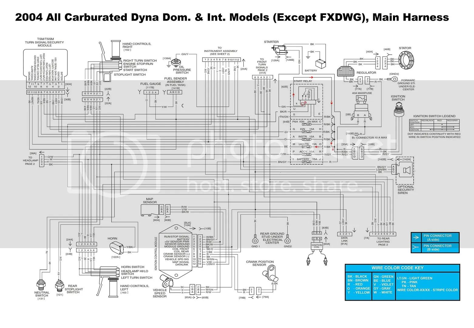 softail slim wiring diagram
