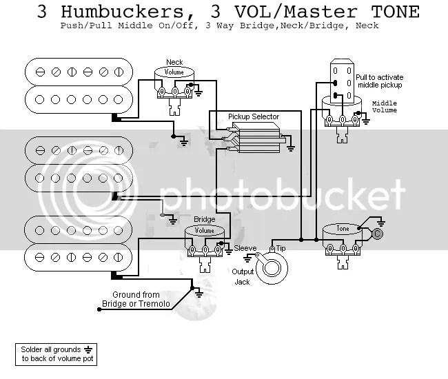 3 Pickup Wiring Diagram - Wiring Data Diagram