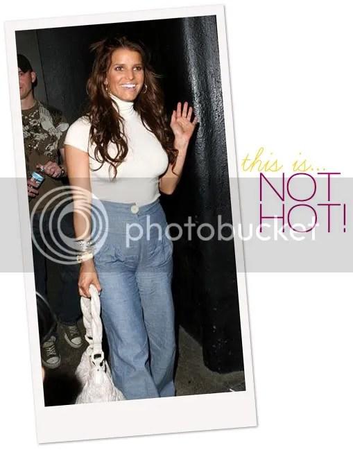 Jessica Simpson - High Waist Jeans