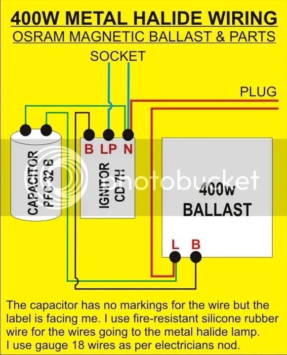 100 Watt Metal Halide Wiring Diagram Wiring Schematic Diagram