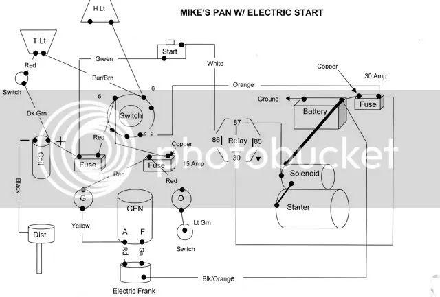harley starter solenoid diagram