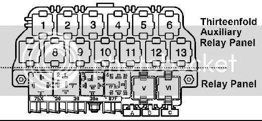 1997 gti vr6 Motor diagram